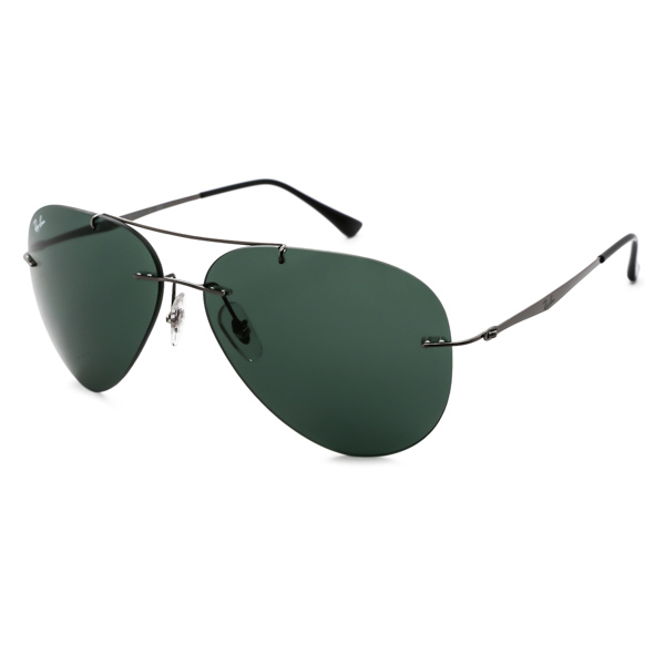 5495bc745d7fb Oculos De Sol Ray Ban Tech Aviator Light Ray 004 71 Masculino Cinza RB8055  57315368SJ